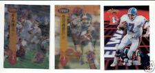 1994 SF 3-D Denver Broncos Set JOHN ELWAY SHANNON SHARPE ROD BERNSTINE