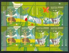 Belarus 2011 Europa/Forests/Trees/Nature/Environment/Animals 6v m/s (n32697)