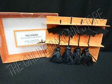 4 Pottery Barn Kids Halloween Broom Stick Witch Place Card Holders Party Dining