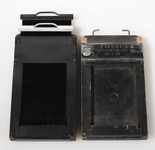 2 1/4 X 3 1/4 CUT FILM HOLDER W/ 1 FOR PARTS