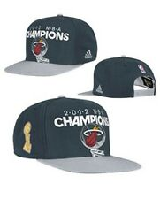 NBA Miami Heat Adidas 2012 NBA Champions Snapback Hat Cap NEW!!