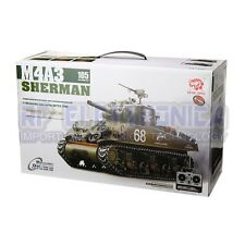 Heng Long 3898-1 2.4G 1/16 US Sherman M4A3 Tank Radio Control Battle Tank