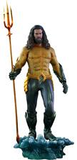 Dc Comics Movies Jason Momoa Aquaman 1/6 action figure hot toys Sideshow MMS518