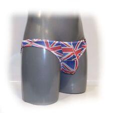 Slip Thong Underwear Panties for Men Union Jack Size: S - M (2637)