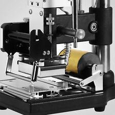 Kleine manuelle Heißfolienprägemaschine Leder Kunststoff Bronzing Maschine