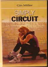 Simply Circuit with Gin Miller DVD cardio strength step workout exercise fitness