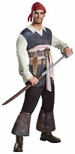 Captain Jack Sparrow Classic Adult Costume Pirates Of The Caribbean 5 Halloween