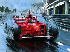 "046 Michael Schumacher - Mercedes Germany F1 Racing Driver 18""x14"" Poster"