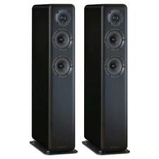 Wharfedale D330 2,5-Way Stand Lautsprecher schwarz floor speaker Black Wood PAAR