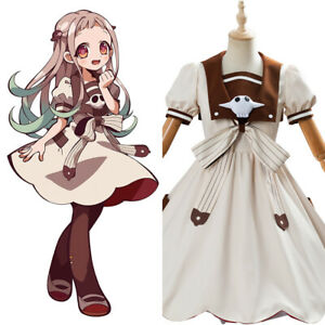 Anime Toilet-Bound Hanako-kun Nene Yashiro Cosplay Costume Girls Dress Uniform