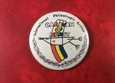 USSR Vintage Pin Badge International Philanthropic Action.CARAVAN OF MERCY. RARE