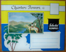 1960s Vintage Postcard Folder - Selected Glimpses, Charters Towers, Qld