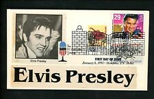 Ranto Cachet US FDC #2721 on Created Cachet w 1613 1252 Elvis Presley music 1993
