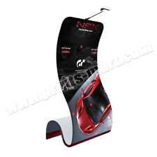 Trade Show Cobra Tension Fabric Banner Stand Portable Display + FREE Printing