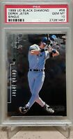 1999 Upper Deck Black Diamond #56 DEREK JETER PSA 10 HOF YANKEES POP 55 SSP