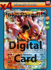 4x Volcanion EX 26/114 PLAYSET Pokemon TCG Online !! PTCGO Digital Card !!