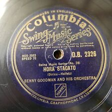 78 rpm BENNY GOODMAN hora stacato / poor butterfly