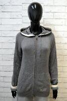 CHAMPION Maglione Felpa Cashmere Donna Taglia L Maglia Pullover Grigio Sweater
