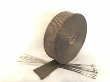 15m Titan Hitzeschutzband bis 1400° 50mm breit,stärker als normales Gewebeband.