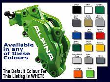 ALPINA Premium Brake Caliper Decals Stickers x 6