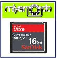 Sandisk Ultra Compact Flash CF 16GB Memory Card