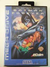 !!! SEGA MEGA DRIVE SPIEL Batman Forever OVP, gebraucht aber GUT !!!