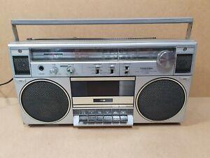 Vintage Toshiba RT-120S Ghettoblaster Cassette Radio Boombox *Read Description*