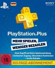 Sony PSN Live 365 Tage Card