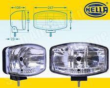 2x Hella Fernscheinwerfer mit Pos-Leuchte JUMBO 320 FF 1FE 008 773-041