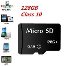 Carte Micro SD 128 Go Class 10 TF Flash Memory SDHC SDXC - 128 g-avec adaptateur