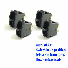 4 Manual Paddle Valve Switch Control Air Ride Suspension up=air in, down=air out