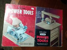 Craftsman Power and Hand Tools Catalogs 1957 and 1960-61