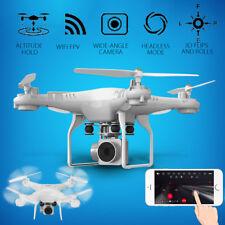 2MP HD 1080P VIDEO CAMERA MINI DRONE QUADCOPTER WIFI FPV QUADRICOTTERO BIANCO