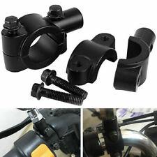 2x Motorrad Rückansicht Lenker Spiegelhalter Klemm Adapter M10 10mm Gewinde
