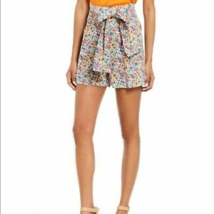 Antonio Melani Liberty London Dawson High Waist Rachel Cotton Shorts size 14