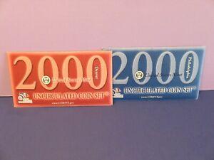 2000 US Coin Mint Set Flatpack 20 Coins  <> P +D Mint Marks - 826