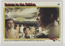 1979 Topps Star Trek: The Motion Picture #38 Return to the Bridge Card 1d3