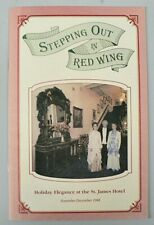 LOT OF 15 STEPPING IN RED WING MINNESOTA GUIDE BOOKLETS