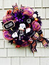 Mickey Mouse  Wreath, Halloween Disney Wreath, Mickey Mouse Halloween Wreath
