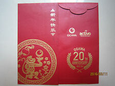 Ogawa Activo Year of Monkey Chinese New Year Ang Pow/Red Money Packet 1pc