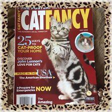 Collectible Cat Fancy Magazine July 2012 American Shorthair Ocelot Ragdoll