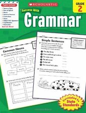 SCHOLASTIC Grade 2 Grammar 40 ready-to-reproduce practice pages