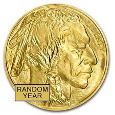 1 oz Gold American Buffalo Coin Random Year BU - SKU #87710