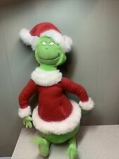 """The Grinch in Santa Suit 18"""" Plush Stuffed Animal Free Shipping Dr Sues"""