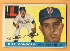 1955 Topps Bill Consolo #207 Bosto Red Sox