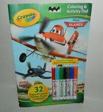 Crayola Disney Planes Coloring & Art Pad Markers New