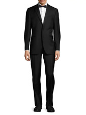 Saks Fifth Avenue, Men's Tuxedo Dinner Suit, NEW, Super 110's, 44R, XL