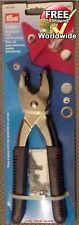 Prym Vario Snap Plier Eyelet Tool Fabric Cutting Kit Button Maker Strap 390900