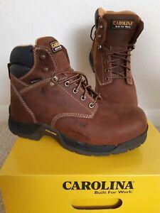 "Carolina Men's 6"" Waterproof Composite Toe Work Boot SIZE  9 1/2 4E"