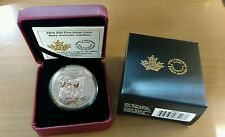 1 oz. Pure Silver Coloured Coin – Baby Animals: Caribou – Mintage: 5,500 (2016)